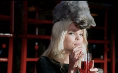 Daphne Groeneveld Frolics, Flirts, and Lets a Cat Sit on her Head in New Dior Addict Film | Fashionista