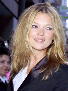 Kate Moss's hair evolution