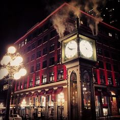 Gastown Steam Clock in Vancouver, BC