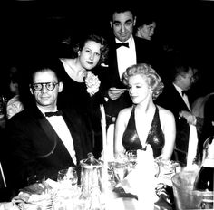Marilyn and Arthur Miller at the Baby Doll premiere, 1956.