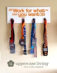 Hey #mom!  This is a fun way to display your kiddos medals with pride!    Spend $60 and get the star board for $5.95 August 2014 #promo !  http://brookebeney.uppercaseliving.net/DesignItems.m?CategoryId=389&DesignId=6877&ItemId=&Keyword=work&CurrentPage=1  Contact me for details.. brooke.uppercaseliving@gmail.com Thanks!