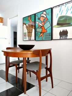 I love this classic mid century modern chair via Dans le Townhouse