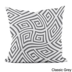 @Overstock - 20 x 20-inch Radiant Orchid Geometric Decorative Throw Pillow - Complete the look of your home interior with the addition of a fun, bright throw pillow. The woven polyester cover features a bold twisted geometric print with a plush hypoallergenic faux down fill for a soft feel.  http://www.overstock.com/Main-Street-Revolution/20-x-20-inch-Radiant-Orchid-Geometric-Decorative-Throw-Pillow/8901886/product.html?CID=214117 $35.09