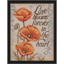 COUPON  Cross Sttich Kit  Bucilla Love by CrossStitchKitsOnly, $19.00