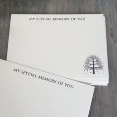celebration of life memory cards - Google Search