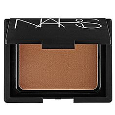 NARS - Bronzing Powder  I have this in Casino. I was never really into contouring until I was in Sephora looking for another bronzer. This product doubles as a bronzer as well as contouring. Has a little shimmer to it. It looks really dark in the pallett but it actually goes on very subtle. I love it and it lasts a long time. One swipe across and I can do both cheeks