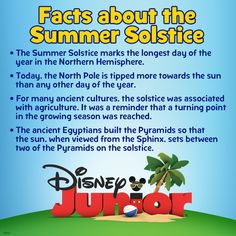 The Summer Solstice is 6/21!