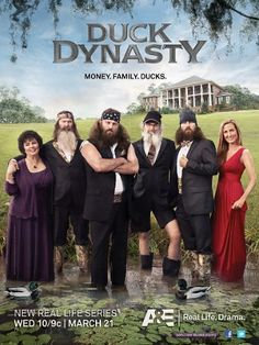 Duck Dynasty = going to miss watching this show when it's gone ! Got to pull out the DVD's ! : )