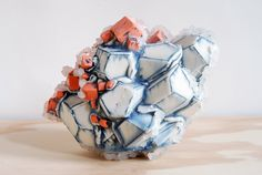 Brett Freund is an artist living and working in Maryland. He recently was awarded the Lormina Salter Fellowship at Balitmore Clayworks . Contemporary Artwork, Contemporary Artists, Organic Sculpture, Ceramic Texture, Paperclay, Old Art, Abstract Sculpture, Wow Products, Handmade Pottery