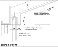 Recessed Curtain Details | Details | Curtain pelmet ...