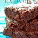 Just made these eggless / no egg brownies because I didn't have any eggs in the fridge, and they were DELICIOUS! And so super easy! I highly recommend them :)