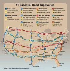 Essential Road Trip Routes