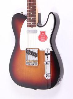 Fender Classic Player 60s BAJA Tele in 3 Tone Sunburst. Fender master builder Chris Fleming has upgraded his Baja Tele design with full-on 60s features and vibes! Available in store now £665 #fender #fenderguitars #telecaster #guitar #fenderBAJA