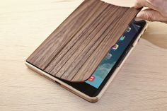 Walnut iPad Air/Mini Case by Grovemade