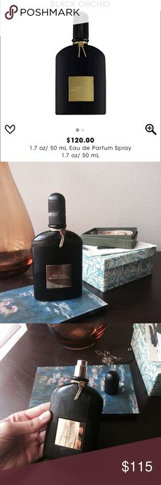 Tom Ford Black Orchid Perfume Used a handful of times. 50 ml as shown in the photos Sephora Makeup