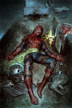 Amazing spider-man gauntlet poster electro marvel comics avengers peter parker