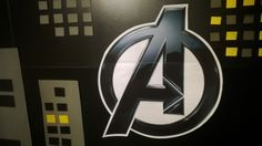 Superhero Birthday detail 'Avengers'.