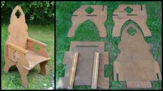 Medieval camping chair
