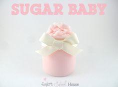 Sugar Baby body polish by Smart School House - baby wash, baby oil & sugar scrub Sugar Scrub Recipe, Sugar Scrub Diy, Sugar Scrubs, Salt Scrubs, Diy Body Scrub, Diy Scrub, Hand Scrub, Homemade Beauty, Diy Beauty