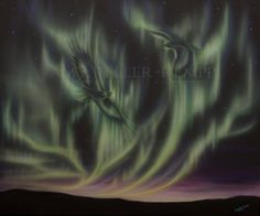 Sky Dance Series of eagles by Amy Keller-Rempp. by acrylic on canvas. Original painting Sold, giclee print and fine art cards available. Canadian Wildlife, Aboriginal Artists, Spirit Animal, Giclee Print, Northern Lights, Original Paintings, Art Cards, Sky, Fine Art