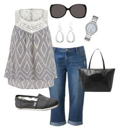 """Plus Size Summer Outfit"" by jmc6115 on Polyvore                                                                                                                                                     More"