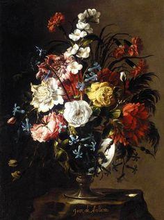 The Athenaeum - Vase of Flower (Juan de Arellano)