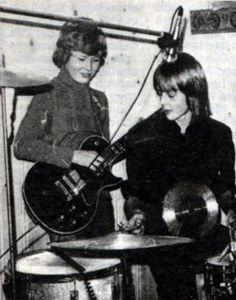Paul and Magne in school