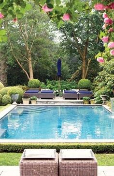 When it is about remodeling your backyard, there are lots of choices out there. Just because you've got a little backyard doesn't indicate you can't delight in a swimming pool of your own. A little backyard doesn't imply it can't… Continue Reading → Small Swimming Pools, Swimming Pools Backyard, Swimming Pool Designs, Backyard Landscaping, Outdoor Pool, Outdoor Spaces, Outdoor Gardens, Outdoor Living, Backyard Pool Designs