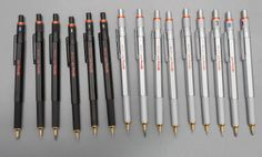 Rotring 600G vs 800 | Drafting and Mechanical Pencils