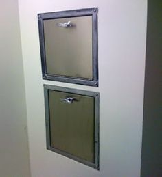 1000 images about trash chute on pinterest laundry for Laundry chute design