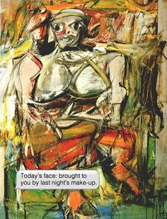 Willem de Kooning, Woman, 1950-52 - Another Magazine - If Paintings Could Text