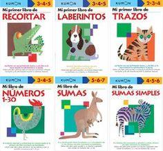 Método Kumon Kumon, Grade 1 Reading, Retro Baby, Dinosaur Stuffed Animal, Math, Books, Animals, Homeschooling, Puzzles