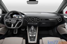km77.com - Audi TT Sportback concept Turismo Interior Salpicadero 5 puertas