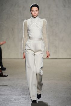 Winter White for Fall 2012, you loving or hating this look.