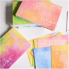 30 pcs/pack Creative Colorful World Greeting Card Postcard Birthday Gift Card Set Message Card Letter Envelope Gift Card(China (Mainland))