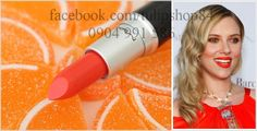 Son MAC Amplified Creme Lipstick. Màu: Neon Orange. Giá: 450k. Tel: 0904 991 586