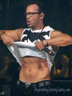 shirtless Donnie wahlberg