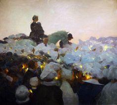 Pardon Breton, 1896, Gaston de La Touche (1854–1913)