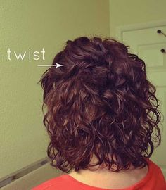 25 Short and Curly Hairstyles | http://www.short-haircut.com/25-short-and-curly-hairstyles.html