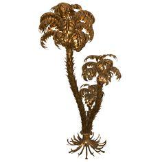 1stdibs | Large Palmtree Floorlamp.