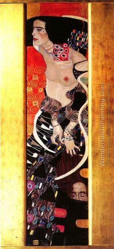 Judith II or Salomé by Klimt (1909)