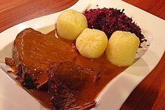 Rinderbraten, ganz einfach, ein gutes Rezept aus der Kategorie Rind. Bewertungen: 352. Durchschnitt: Ø 4,5.