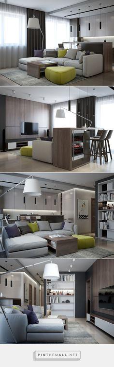 Гостиная интерьер современный, гостиная современная, гостиная с кухней интерьер, гостиная минимализм кухня, барная стойка гостиная, барная стойка кухня, барная стойка в квартире, встроенные книжные шкафы, книжные полки в гостиной, книжные шкафы в интерьере, тв зона дизайн, тв зона минимализм, тв тумба модерн, стеновая панель дерево, стеновая панель кухня / living room ideas apartment modern interior design,living room with kitchen bar,bookshelves built into wall, wall paneling living room…