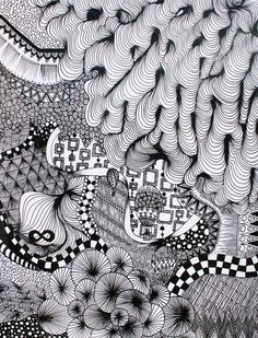 Zentangle inspiration.