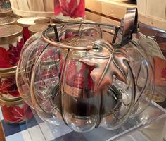 Bath & Body Works Glass Pumpkin Luminary