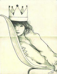 drawing (by Yoshinori Kobayashi)