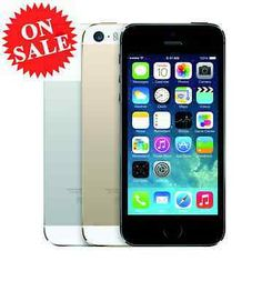 (Factory Unlocked) Apple iPhone 5S AT&T T-Mobile Verizon Space Gray Silver Gold  $251.59