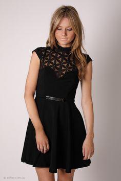 cocktail dress - black