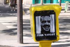 """The Shining"" Street Art - Montmartre"