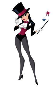 Zatanna (Justice League Action) by Shane Glines
